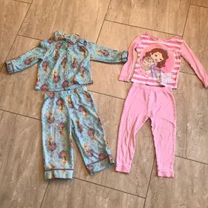 Disney Long Sleeve Pajama Set